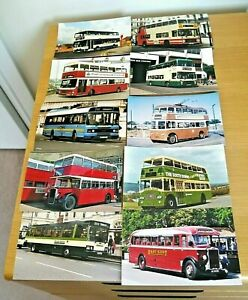 20 x Colour Photos - 6 x 4 prints Buses Operators in South East England No.1