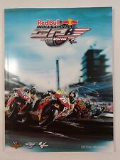 2015 Indy Red Bull Indianapolis Moto GP Race Collector Program IMS INDY500
