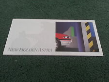 July 1987 HOLDEN ASTRA - AUSTRALIAN SMALL FOLDER BROCHURE Nissan Pulsar Sunny