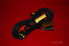 Universal Wiring Relay Harness resistor Fuse Stop Flickering HID KIT H11 H8 H13