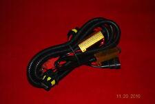 Universal 1X HID 9006 9005 Wire Relay Harness Fuse Stops Flickering anti-flicker