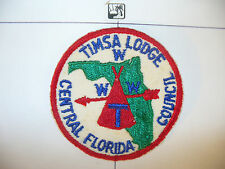 OA Tipisa Lodge 326, ZR-2a,1950s,TIMSA,Red C/E Bdr,pp,Central Florida Council,FL