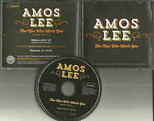 AMOS LEE The Man Who Wants you 2013 USA PROMO DJ CD single MINT w/PRINTED LYRICS
