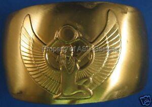 1 Brass Cuff Egyptian Goddess Isis Bracelet 6166