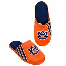 54e90add5 NWT NCAA STRIPE LOGO SLIDE SLIPPERS - AUBURN TIGERS - MEDIUM