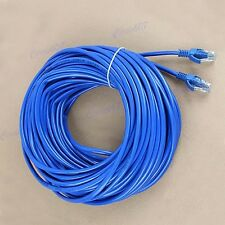 Blue 30M 100ft CAT5E CAT5 RJ45 Ethernet Internet Network Patch Lan Cable Cord