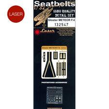 132547 HGW Seatbelts (LASER) - Gloster Meteor F.4 (HK Models) 1:32