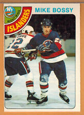1978-79 , OPC , O-PEE-CHEE , MIKE BOSSY , CARD #115 , ROOKIE