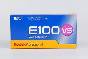 Pack of 5 Kodak EKTACHROME E100VS 120 slide Film 12 Exp., Expired 02.2014