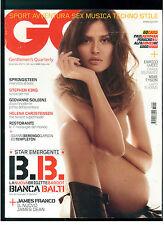 GQ ITALIA 98 NOVEMBRE 2007 BIANCA BALTI BRUCE SPRINGSTEEN HELENA CHRISTENSEN