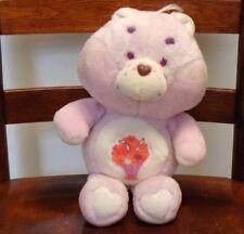 "Vintage Care Bears Share Bear Plush Stuffed Animal 13"" Kenner 1985 Milkshake"
