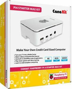 CanaKit CanaKit Raspberry Pi 4 Starter MAX Kit 8GB RAM•WARRANTY