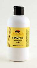 Thinning Hair Shampoo with Emu Oil 250ml, natural, non-irritating, no SLS