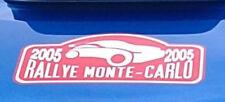 World Rally Team Monte Carlo 2005 Bonnet Pegatina en rojo y blanco Todos Los Colores