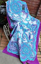 CYNTHIA ROWLEY Giant Cotton Beach Towel Moroccan Designer X Large 180cm Paisley