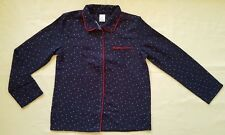 NWT GAP KIDS GIRL'S NAVY BLUE STARS SLEEPWEAR TOP 100% POLYESTER (10)