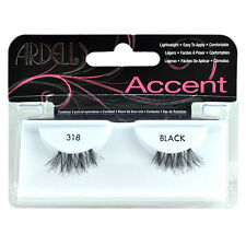 Ardell Accents False Faux Natural Eyelashes Half Lashes Style 318 Cosmetics