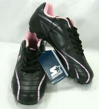 Starter Womens Athletics All Purpose Black Pink Soccer Cleats Size 6 M