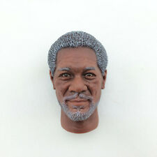 HOT FIGURE TOYS1/6 HEADSCULPT Morgan Freeman HEADPLAY The Dark Knight Lucius Fox