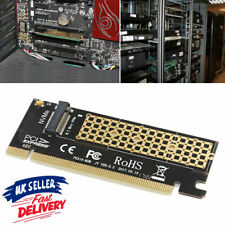 More details for pci-e 4x to ngff pcie ssd card adapter dual interface m key m.2 ngff+nvme