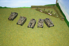 USA M4A1 Sherman Platoon Flames of War: WWII.UBX02 Painted.