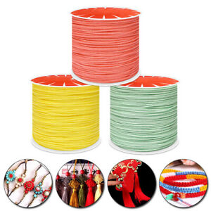 45m 0.8mm Beading Thread Leather Sewing Jewelry Making Nylon Cord String Strap