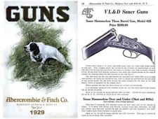 Abercrombie & Fitch Firearms & Sports 1929 Catalog