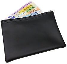 XL BANKTASCHE BANKMAPPE GELDMAPPE GELDTASCHE BÖRSE BANK ETUI GELDBÖRSE -50% NEU