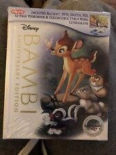 Bambi digibook blu ray! Target exclusive! Brand new!