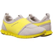 NIB Cole Haan Women's ZeroGrand Slip-On Sneakers Grey / Yellow Size 8.5   $178