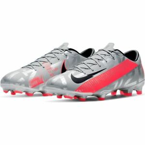 NIKE Vapor 13 Academy FG Women's Size 11,13 Gray Pink Black Soccer Cleats Shoes