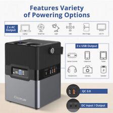 iDeaPLAY BP300 67000mAh Outdoor Portable Power Generator Silver