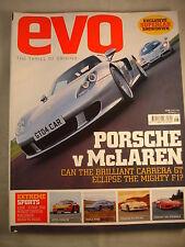 Evo Magazine # 68 - Exige - Noble - 911 GT3 - Ferrari 360 - Mclaren