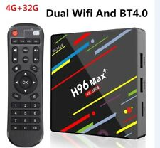 H96 Max+ Boitier TV Android 9.0 Smart TV Box 4GB 32GB Dual Wifi BT4.0 Rockchip