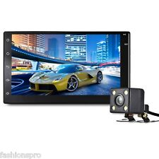 7003 Android 6.0 7 inch Car Multimedia Player with Bluetooth GPS WiFi HD camera
