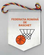ROMANIA BASKETBALL FEDERATION SMALL PENNANT #2 9x12cm