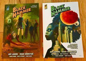 Black Hammer Library Editions HC Vol 1 & 2 Hardcover Dark Horse Jeff Lemire