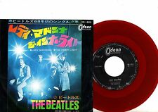 BEATLES 7' PS The Inner Light Japan RED WAX OR 1902 rare Japanese RED VINYL 45