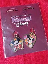 NEW! Mickey Mouse Minnie 2010 Tokyo Diseney Resort Limited Metal Mascot UK DESPA