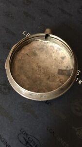 Solid Silver Chunky Verge Pocket Watch Case Hallmark Birmingham Silver