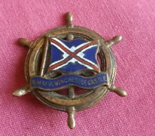 RMMV Winchester Castle Mail Ship -  Badge 1964