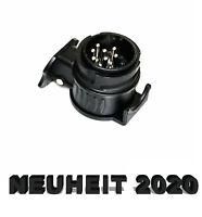 ADAPTERSTECKER 13- AUF 7-POLIG PKW AUTO Adapter für Anhänger Kupplung Dose NEU