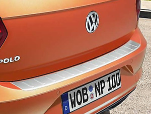 Genuine Volkswagen Polo Loading Sill Protection Plate - Stainless Look (2018-ON)