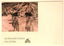 Cartolina La Storia Del Ciclismo Giro D'Italia Con Immagine In Rilievo