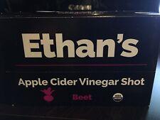 Ethan's Organic Apple Cider Vinegar Shots Beet 2 Oz Pack of 12 Retail Box Agave