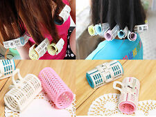 15 Pcs Women's Plastic Clamp Hair Toothed Lash Curler Rollers Tools