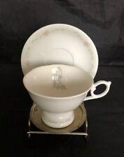 1986 Precious Moments Enesco Mother Sew Dear Musical Teacup And Saucer Rare