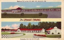THE CORONET MOTELS two locations in South Carolina, COLUMBIA and EASTOVER