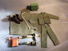 Vintage Action Man COMMAND POST UNIFORM & Accessories, c1966 Original Items