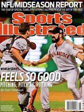 Sports Illustrated Magazine 11/8/2010 Feels So Good SAN FRANCISCO GIANTS